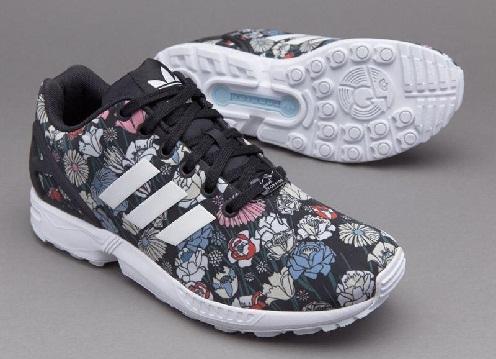 ZX flux women floral print shoes -15