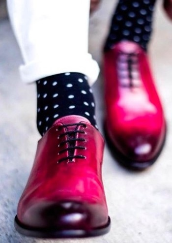 blood red coloured women shoes