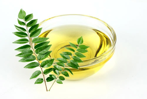 curry leaves hair oil