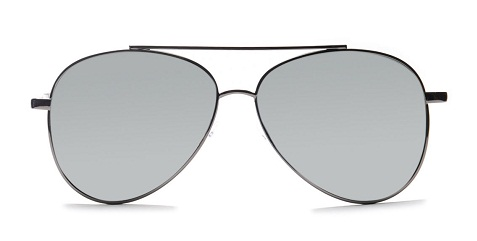 grey aviators Women's sunglass -25