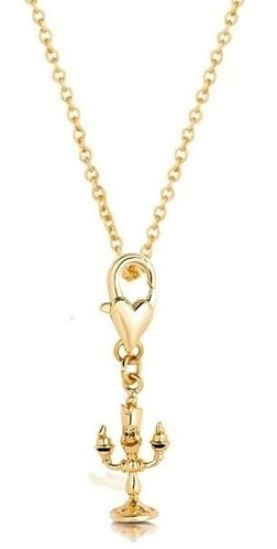 long casual gold plated necklace
