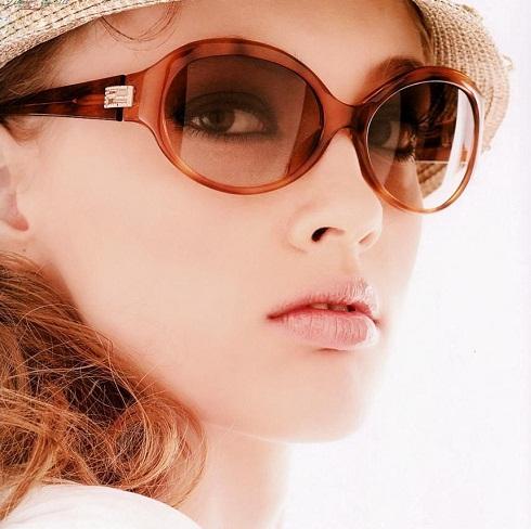 opaque Women's sunglass -7