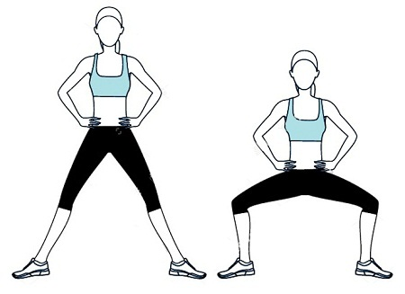 plies exercises for hips