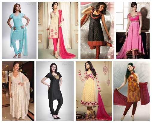 15 Latest & Traditional Churidar Kurta Designs