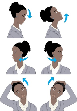 6 Way Face Stretching