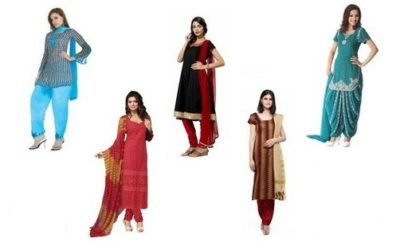 Short Salwar Suits for Ladies