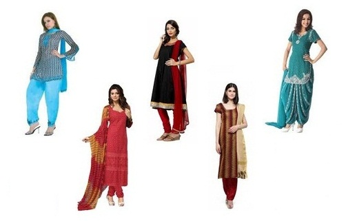 Short Salwar Suits for Ladies