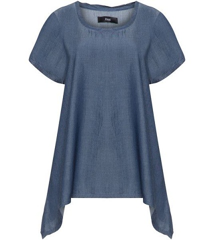 A line Denim Tunic for Women