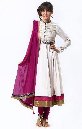 Anarkali Churidar Kurta
