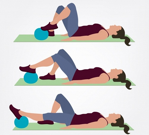 Ankle Toning – Using Exercise Ball