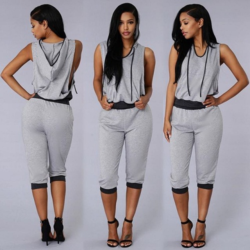 Athletic Romper Jumpsuit