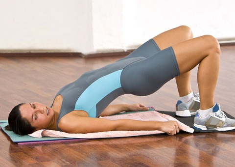exercise for lower back fat at home