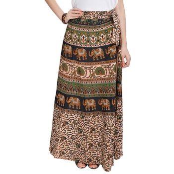 ebcf809795 20 Amazing Models of Wrap Around Skirts That Will Impressive You