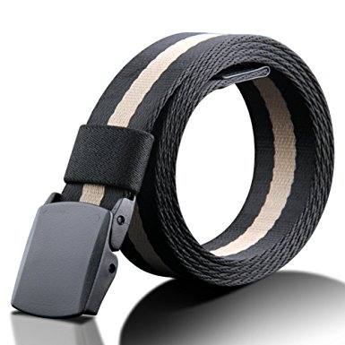 Belt with The Smooth Buckle