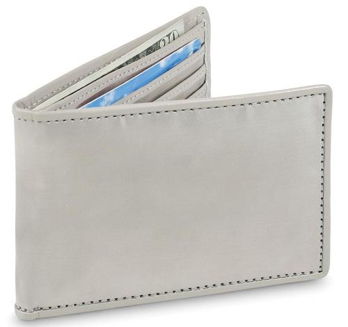 Bi fold Steel Wallet