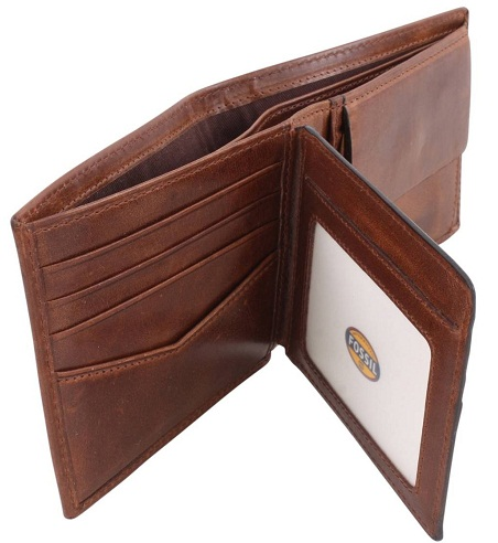 Bifold Coin Pocket Men Fossil Wallet