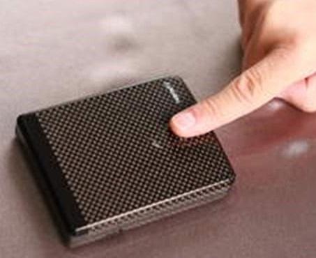 Bio metric Security Wallet