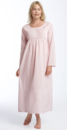 Blouse Style Winter Nightgown