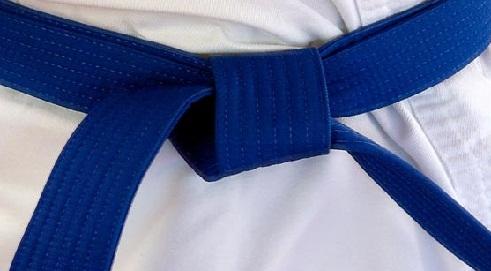 Blue Karate Belt