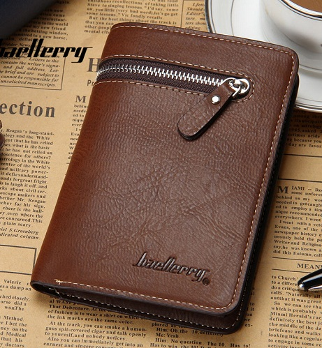 Book Shape Personalized Wallet