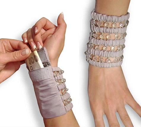 Bracelet Style Wristlet for Women