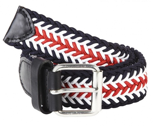 Braided Multicolor Belt