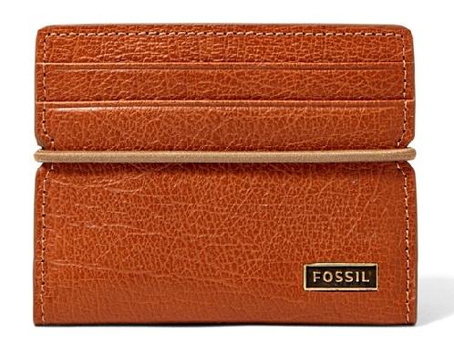 Card Case Bifold Men's Fossil Wallet