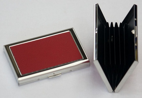 Card Holder Red Wallet