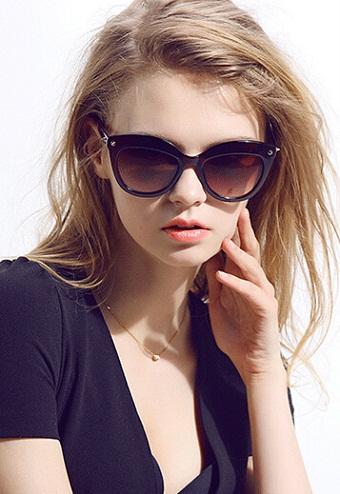 Cat eye Polarized Sunglasses