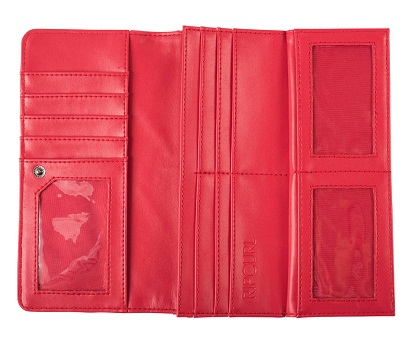 Checkbook Red Wallet