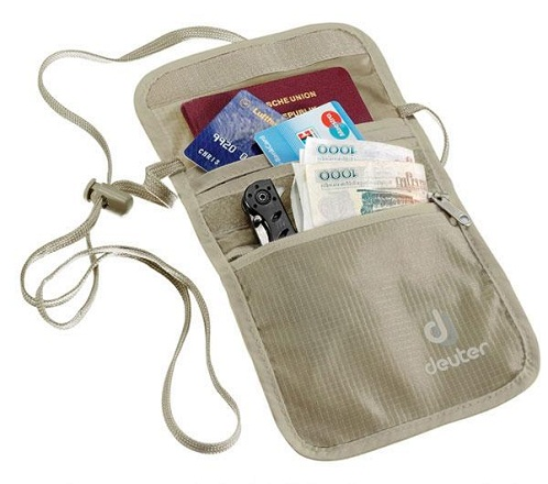 Chest security wallet