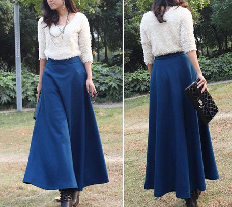 Chic A line skirt