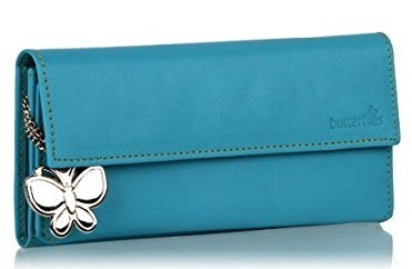 Chic Womens Blue Wallet