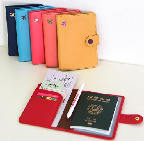 Colorful Passport Wallet