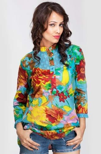 Colourful Printed Tunics for Girls