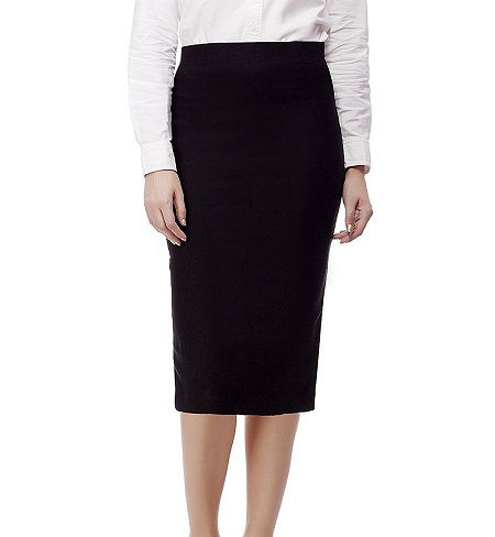 Comfortable Straight A line Skirts