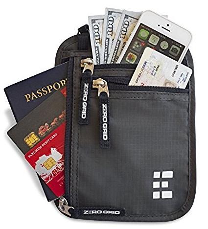 Concealed RFID Wallet