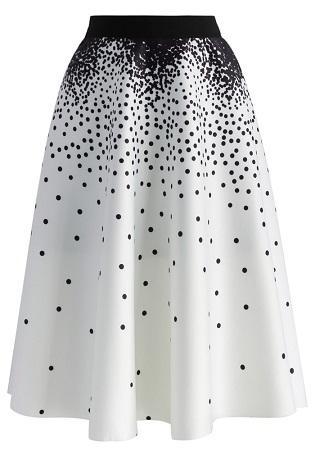 Contemporary A line skirt