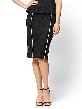 straight skirts