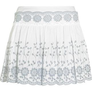 Cotton Broderie Mini Skirt