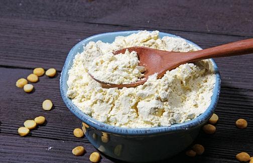 Curd and Gram Flour Paste