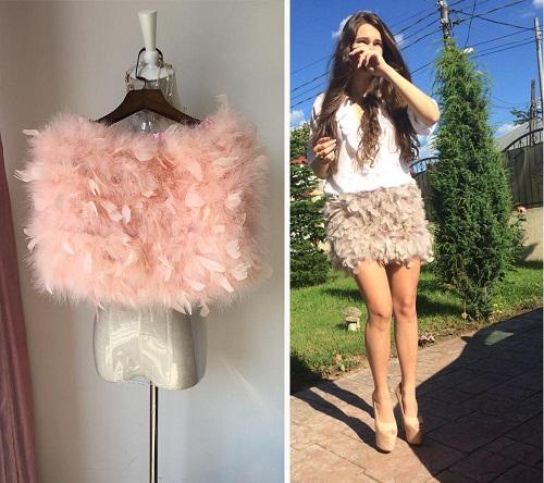 Cute Fur Winter Skirts