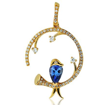 December birthstone necklaces