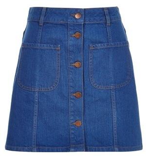 Designer A line skirt