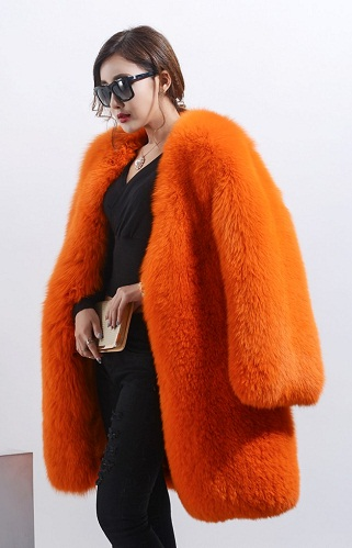 Designer Raccoon Fur Top