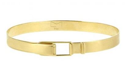 Dual Lock Gold Belt for Men