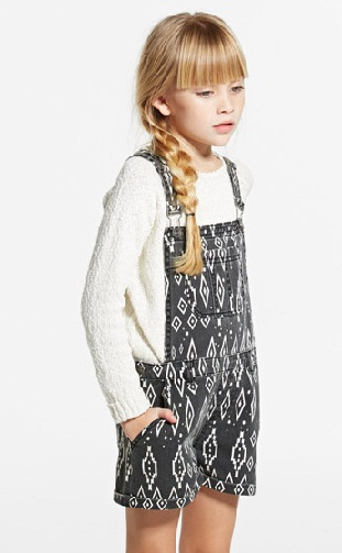 Dungaree Style Kid Jumpsuit