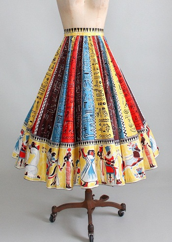 Egyptian Circle Skirt