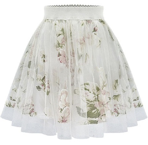 Elastic Flirty Summer Skirts