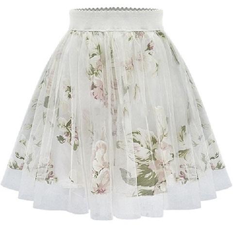 Elastic Flirty Summer Skirts